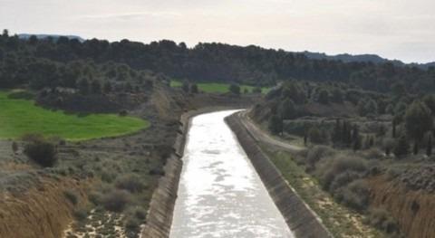CHE licita obra reparación túnel Farasdués, Canal Bardenas (Zaragoza)