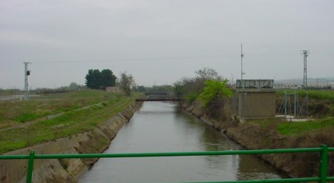 CHE adjudica dos obras mantenimiento Canal Lodosa Rioja