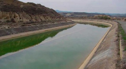 CHE licita mantenimiento infraestructuras riego canales Monegros y Cinca
