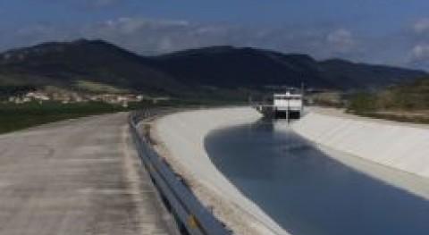 sindicato riegos Funes se adhiere al Canal Navarra