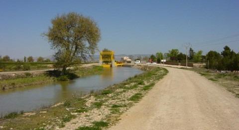 CHE adjudica obra mantenimiento Canal Imperial Aragón, Alagón