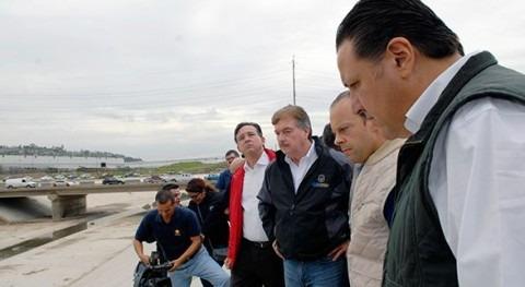 Comienzan trabajos canalización última fase Arroyo Alamar Baja California