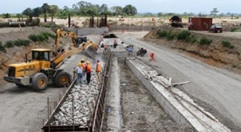 proyecto Control Inundaciones Cañar se encuentra al 35% ejecución