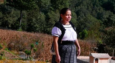 Candelaria Say: lideresa comunitaria y protagonista programas agua Guatemala