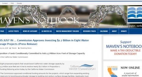 Aumento capacidad regulación agua