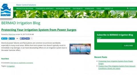 nuevo Blog Bermad nuestras soluciones riego