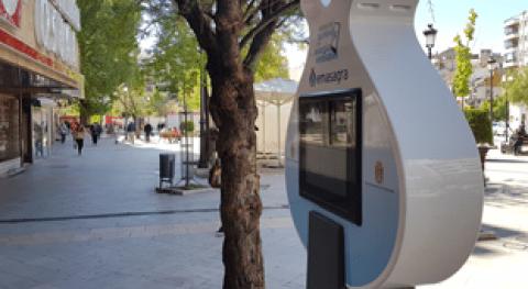 Emasagra instala Granada cargador Smart City SUEZ