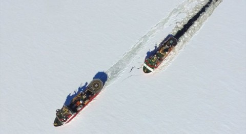 Comienza misión estudiar deshielo glaciar Thwaites