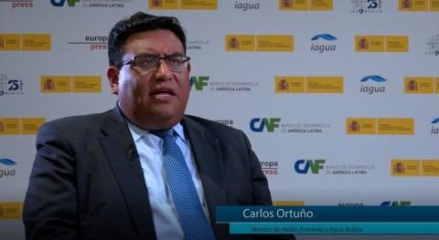 """Carlos Ortuño: """" problemática agua se está volviendo cada vez más inherente sociedad"""""""