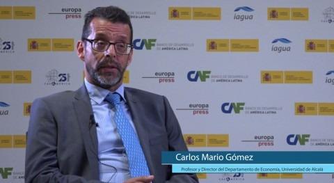 """C. M. Gómez: """"Hay que convertir problemas individuales agua problemas gobierno"""""""