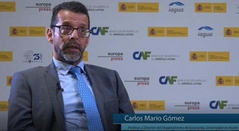 """Carlos Mario Gómez: """" presencia agua agenda pública adquiere relevancia sí misma"""""""