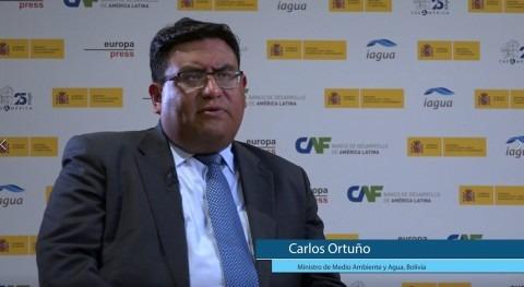 """Carlos Ortuño: """"Bolivia está proceso construcción políticas públicas"""""""