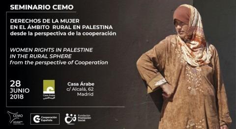 """Seminario """"Derechos mujer ámbito rural Palestina perspectiva cooperación"""""""