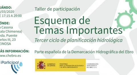 Taller participación Esquema Temas Importantes Ebro Reinosa, Cantabria