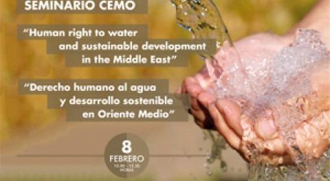 Seminario Internacional: Derecho humano al Agua y Desarrollo Sostenible Oriente Medio
