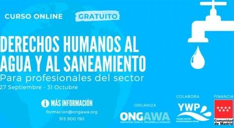 Formación online derechos humanos al agua y al saneamiento. profesionales sector