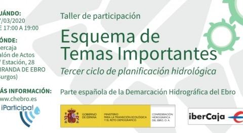 Taller Participación Esquema Temas Importantes Ebro - Miranda Ebro