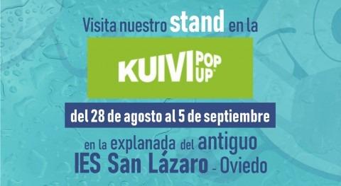 Cadasa promoverá uso responsable agua evento urbano Kuivi Pop Up Oviedo