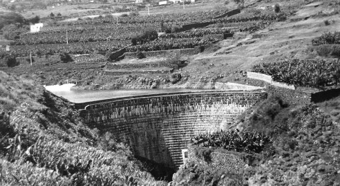 Registro obras hidráulicas gran interés cultural Gran Canaria: Presas embalse