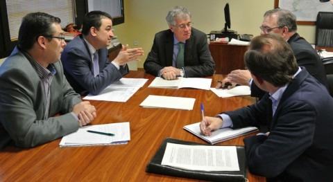 Castilla- Mancha y CHG abordan problemas regantes Alto Guadiana