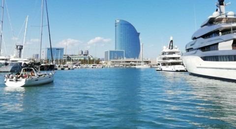 Éxito sistema Flovac exclusivo puerto deportivo Marina Vela Barcelona