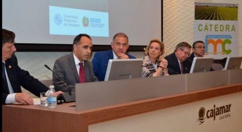 Optimizar riego agua desalinizada, objetivo nueva Cátedra UPCT y Scrats