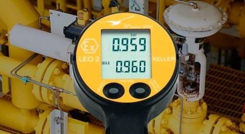 Manómetro digital LEO2: control maquinaria e instalaciones industriales