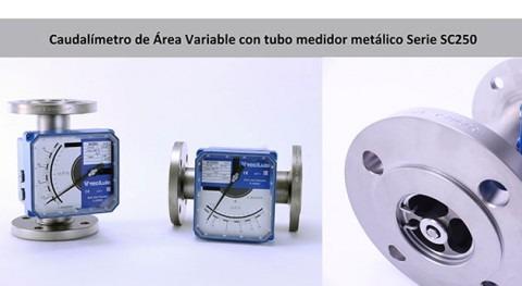¿ qué instalar filtro antes caudalímetro área variable?