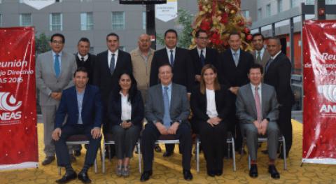 Consejo Directivo ANEAS se reúne sexta ocasión 2016