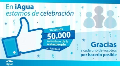 iAgua supera 50.000 fans Facebook, consolidando mayor comunidad sector agua