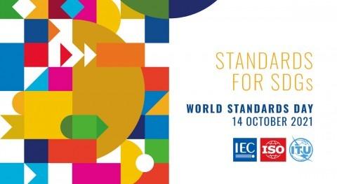 """14 octubre, Día Mundial Normalización: """"Visión compartida mundo mejor"""""""