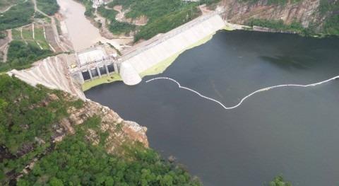 La presa hidrosogamoso constituye el embalse de mayor capacidad de Colombia (fuente: isagen)