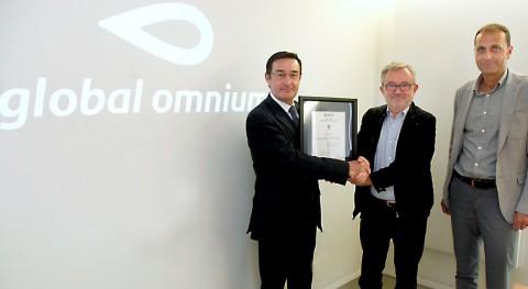 Global Omnium certifica sostenibildad y seguridad agua Almussafes