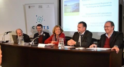 Inaugurado Primer Centro Experimental Regional Saneamiento Uruguay Pando