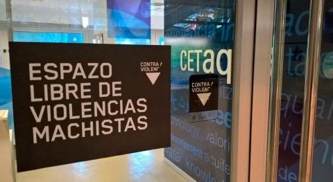 """Cetaqua Galicia se une campaña Violencia Género """" negro violencia"""""""