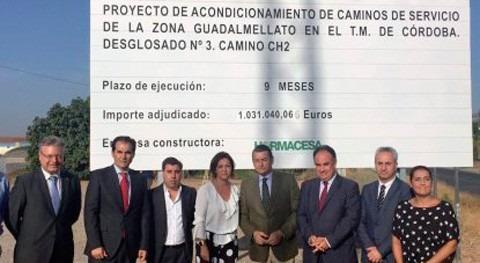 Comienzan obras acondicionamiento CH-2 Córdoba y Encinarejo