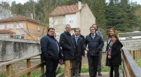 CHMS invertirá 80.000 euros continuación paseo fluvial O Regueiro, Cañiza