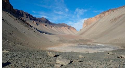charcos podrían haber propiciado vida Tierra