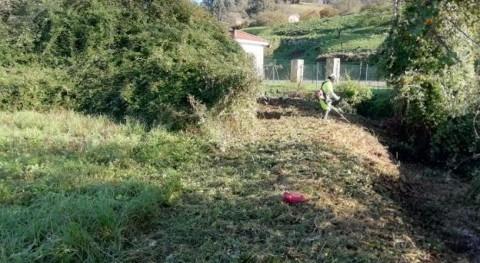 Se llevan cabo trabajos conservación y mantenimiento río Trave