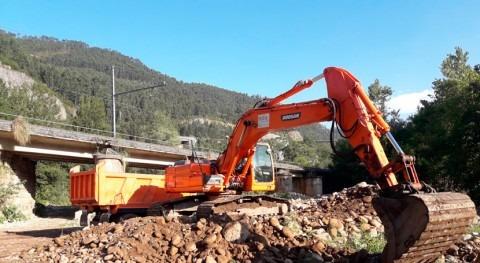 CHC finaliza labores limpieza río Besaya Corrales Buelna
