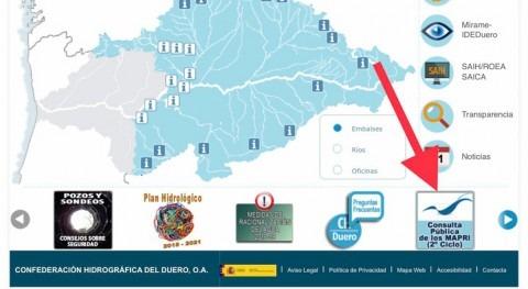 CHD abre consulta pública mapas peligrosidad y riesgo inundación