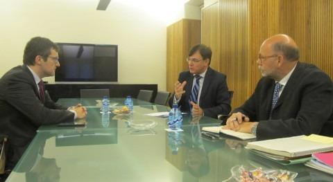 patronal se reúne CHD dentro proceso alcanzar Pacto Nacional Agua