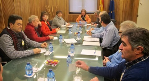 presidenta CHD se reúne Ayuntamientos implicados senda Duero