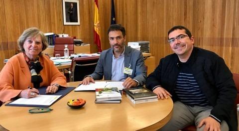 CHD e Itagra firman convenio mejorar libre circulación peces ríos
