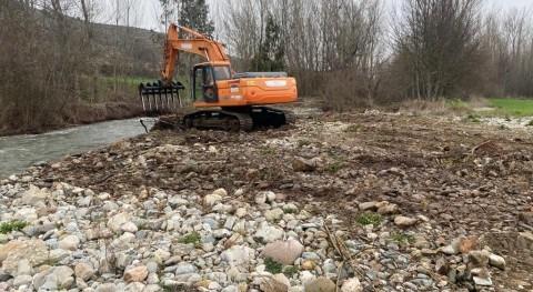 CHE inicia labores conservación ríos Álava y Burgos
