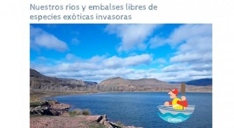 CHE levanta prohibición navegación embalse Maidevera, Zaragoza