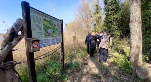 Día Mundial Agua cuenca Ebro: acto 25 años Balsa Larralde (Zaragoza)