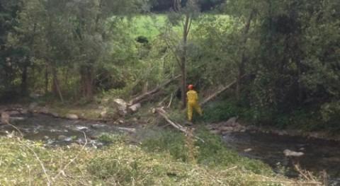 CHE inicia mejora ambiental cauce río Sant Antoni Rialp, Lleida