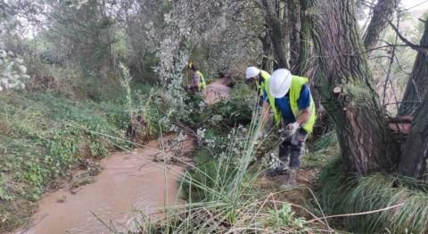 Arrancan trabajos mejora dominio público hidráulico río Jalón