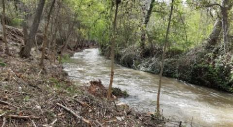 CHE inicia trabajos recuperación capacidad desagüe río Jiloca Zaragoza y Teruel